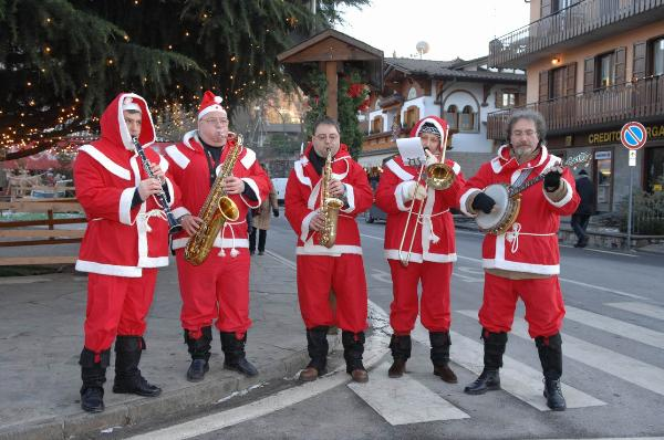 babbo natale dixie band