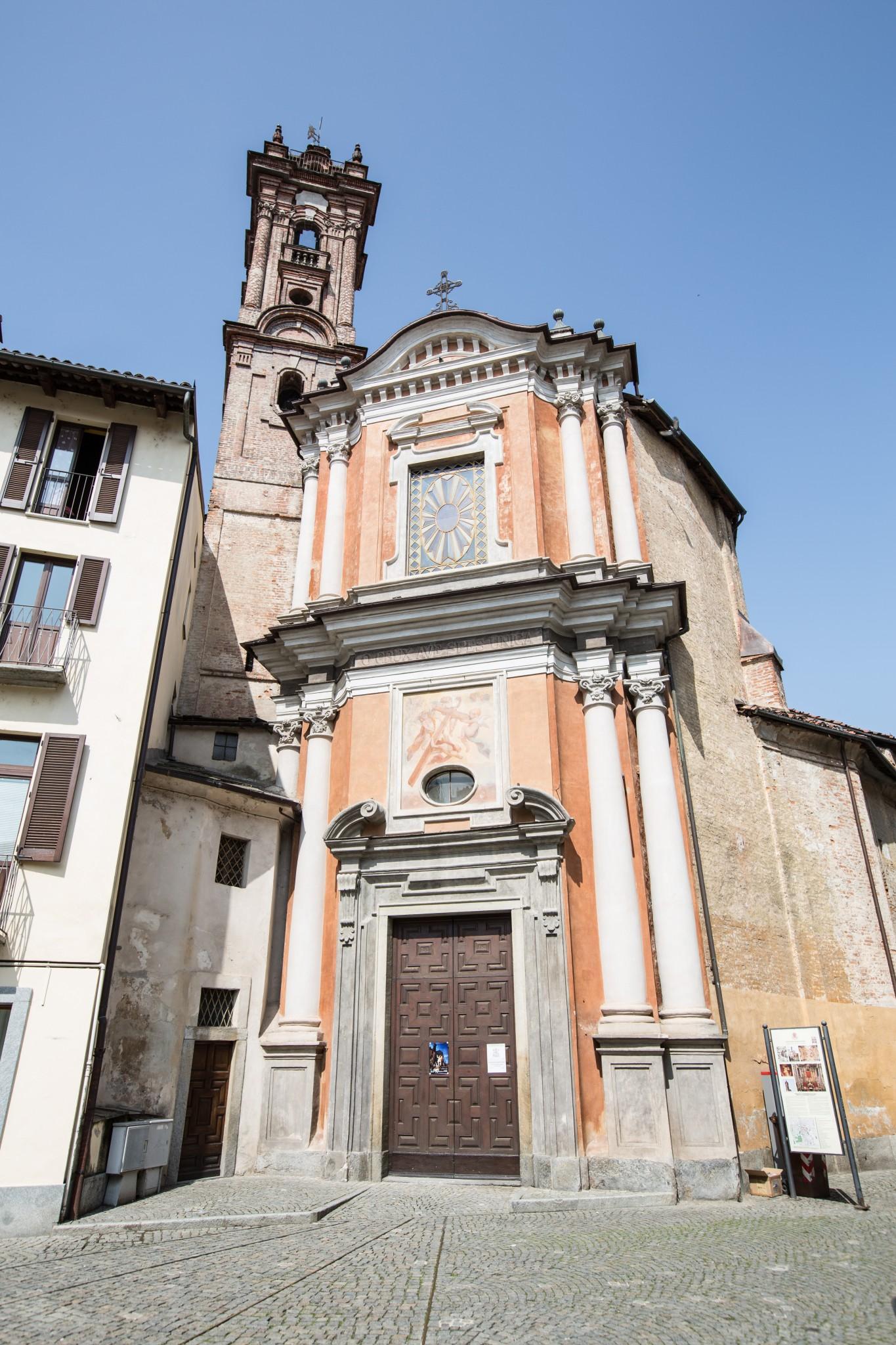 Facciata della Chiesa della Confraternita della Pietà