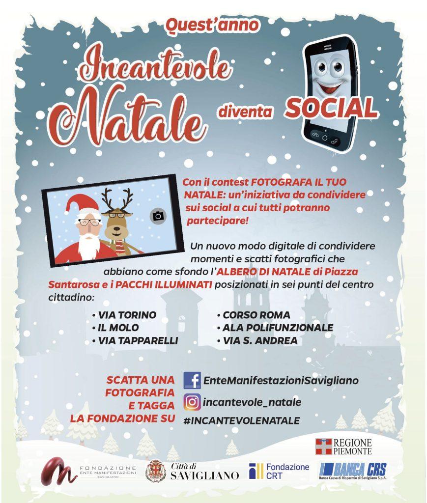 L'Incantevole Natale diventa SOCIAL!