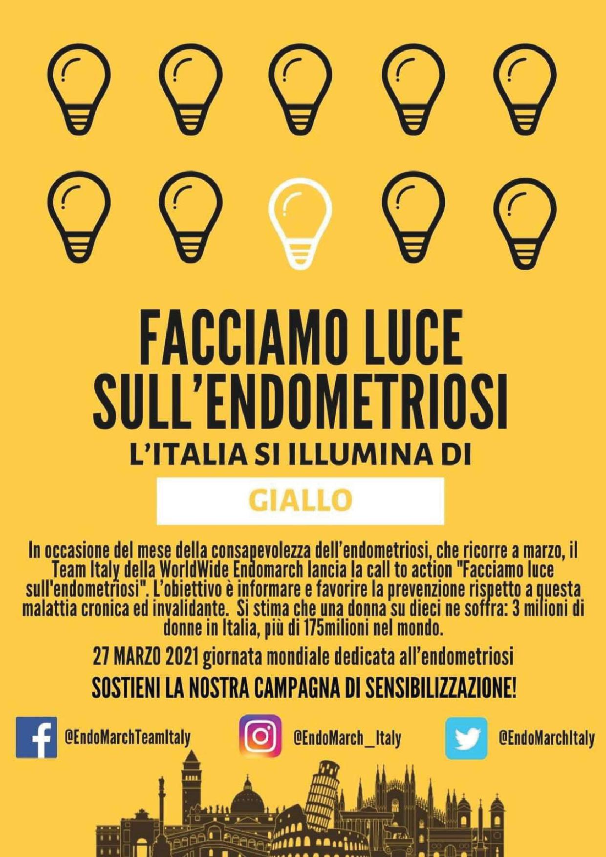 Giornata mondiale dedciata all'endometriosi