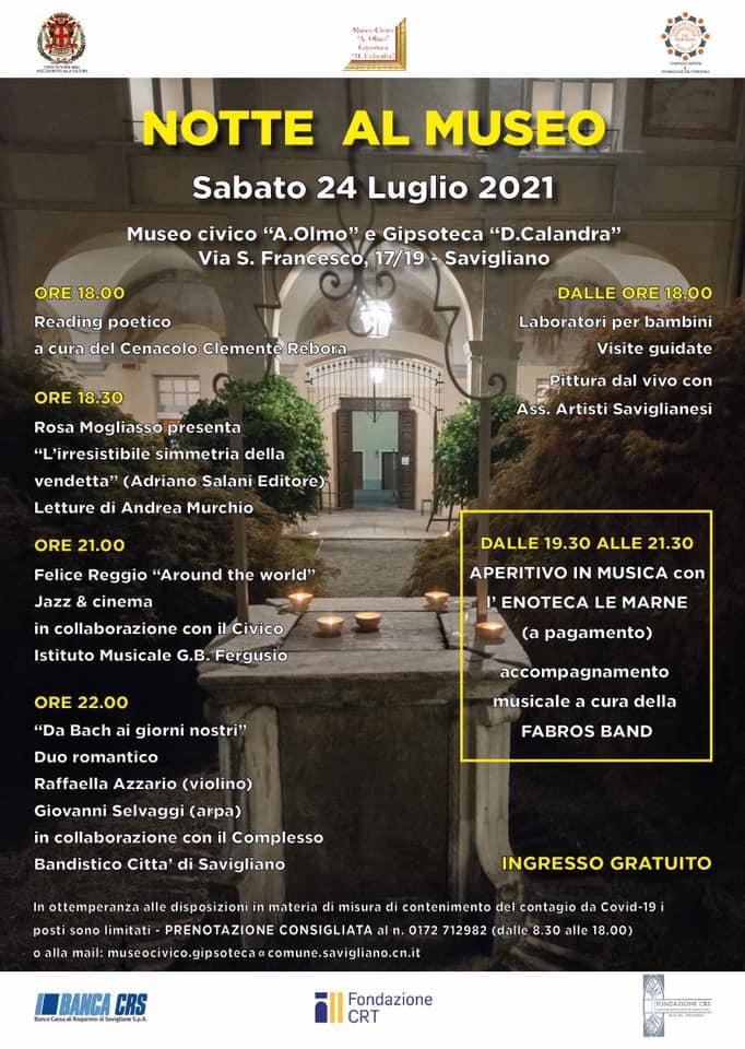 2021 notte al museo